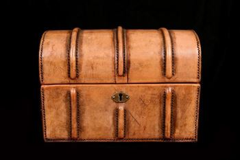 Picture of Leather Caskets