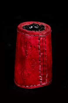 Picture of Leather Ink Well