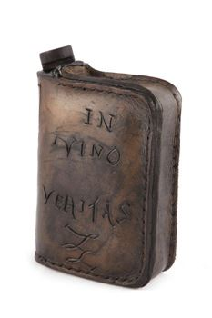 Picture of Leather Book Style Bottle