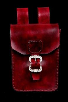 Picture of Oblong Style Leather Belt Pouch