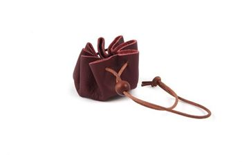 Picture of Leather Coin Purse - Draw-String