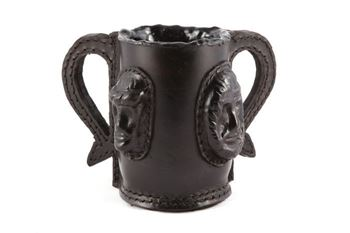 Picture of Leather Loving Cup